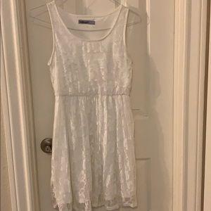 White lace dress 🌸